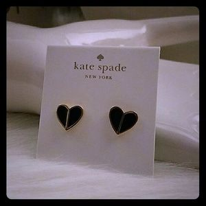 Kate spade spades heart Earrings